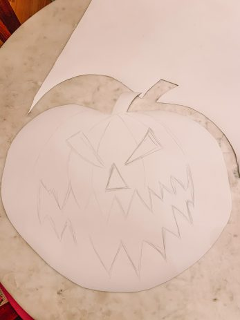 How To Cut Out A Pumpkin Shape from EVA Foam