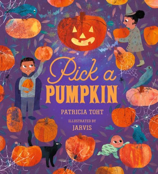 Pick a Pumpkin kids book cover