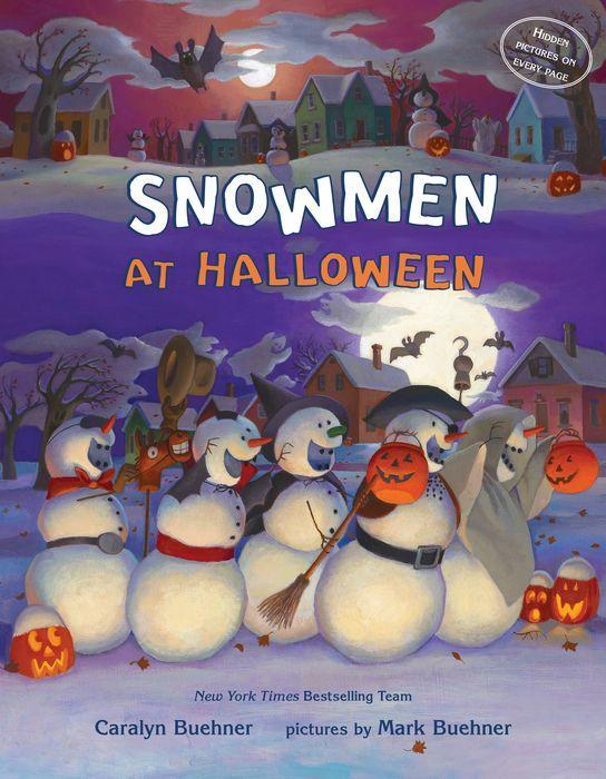 Snowmen at Halloween book cover