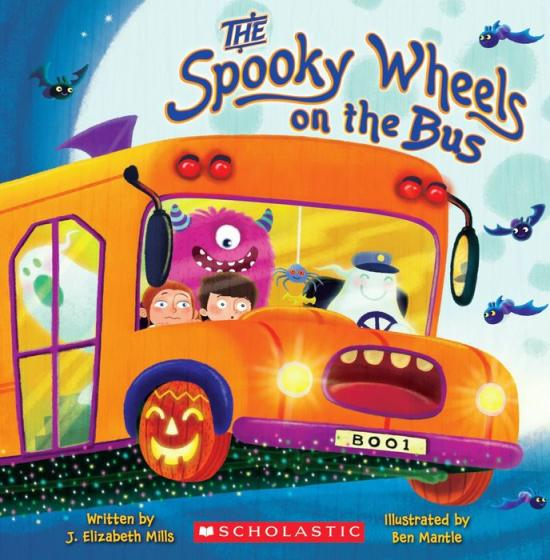 Spooky Wheels on the Bus book cover