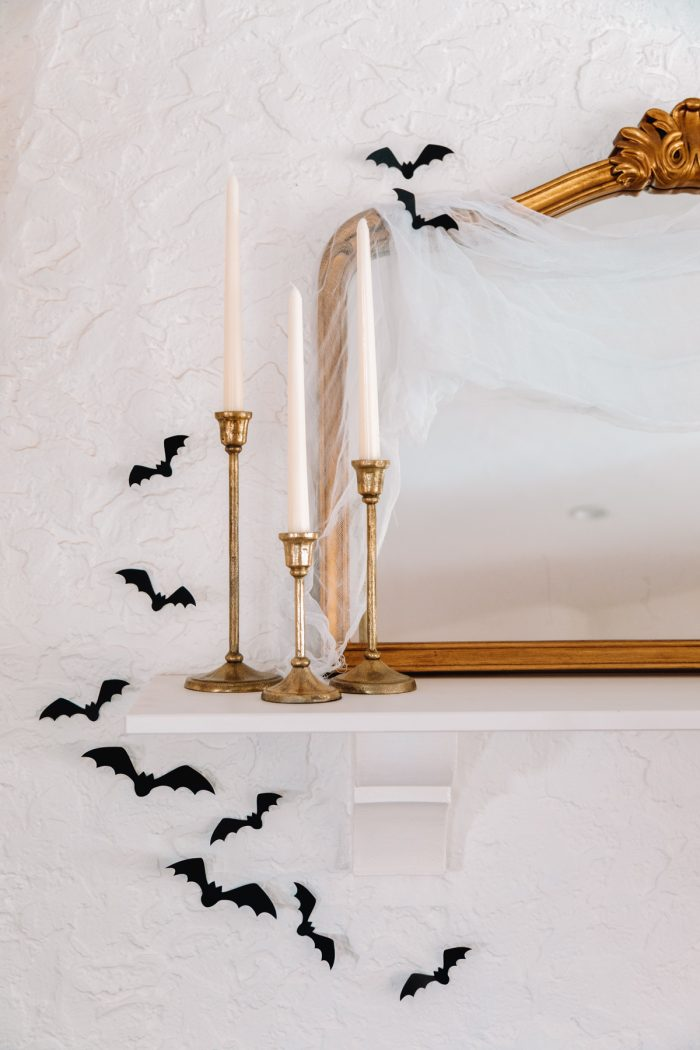 Halloween Mantle Decor Ideas