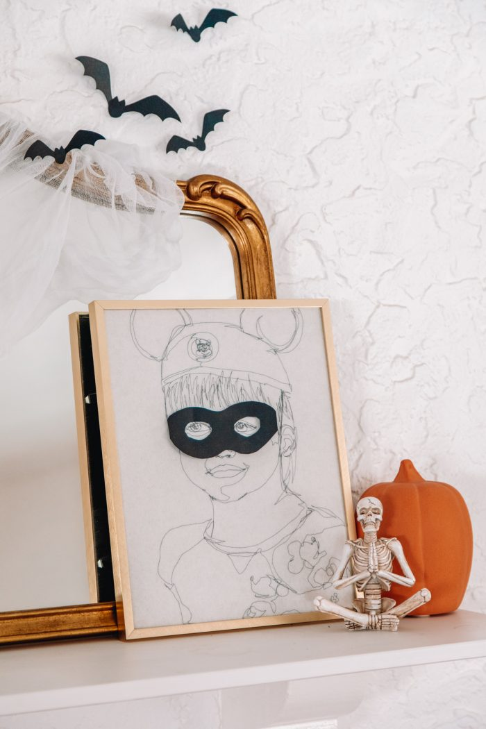 Decorate Photos and Art For Halloween