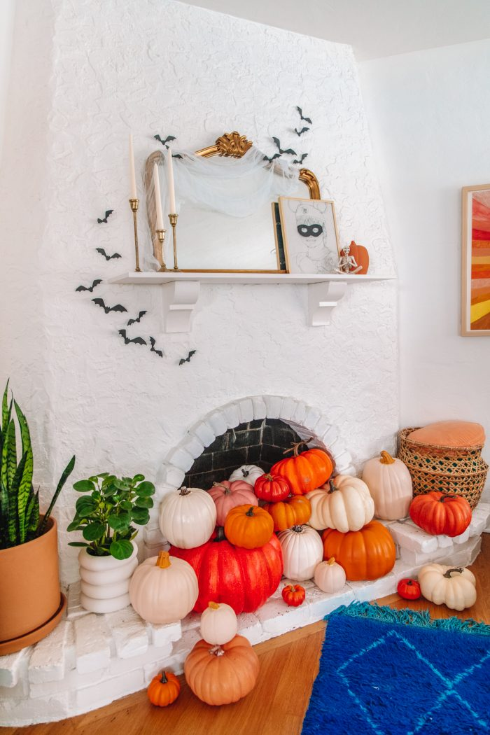 Fireplace Decor Ideas for Halloween