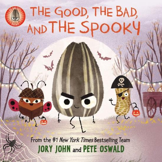 The Good The Bad and The Spooky book cover