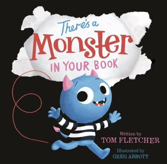 There's A Monster In Your Book book cover