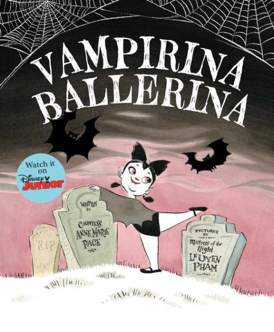 Vampirina Ballerina book cover