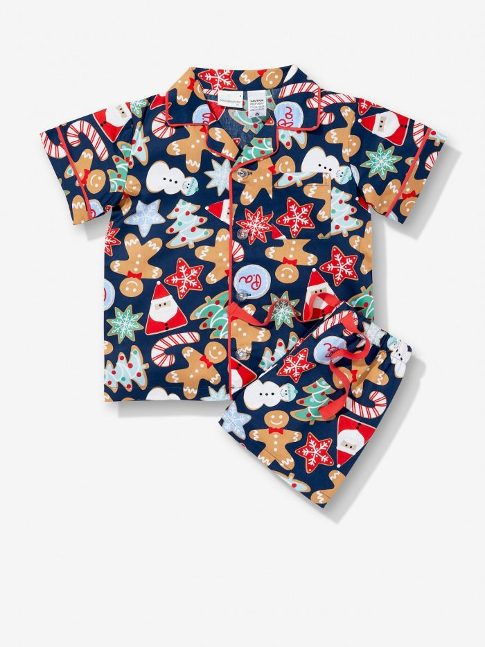 Christmas Cookie Pajamas Short Set