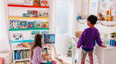 Christmas Decorations in Kids Rooms
