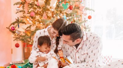 Cute Christmas Pajamas for Kids and Matching Family Christmas Pajamas