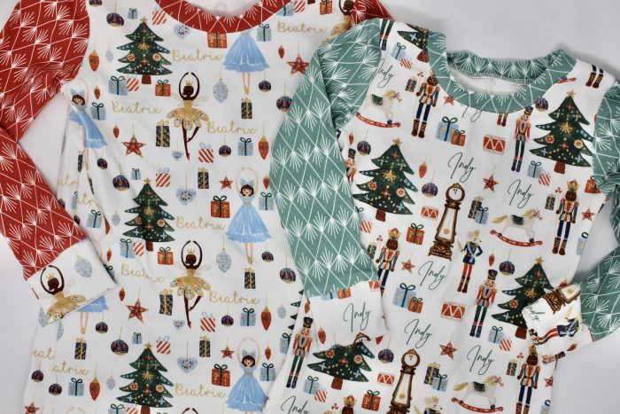 Personalized Nutcracker Pajamas