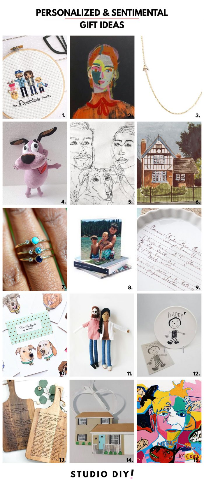 Personalized and Sentimental Gift Ideas from Small Businesses
