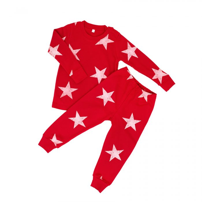Red Star Christmas Pajamas