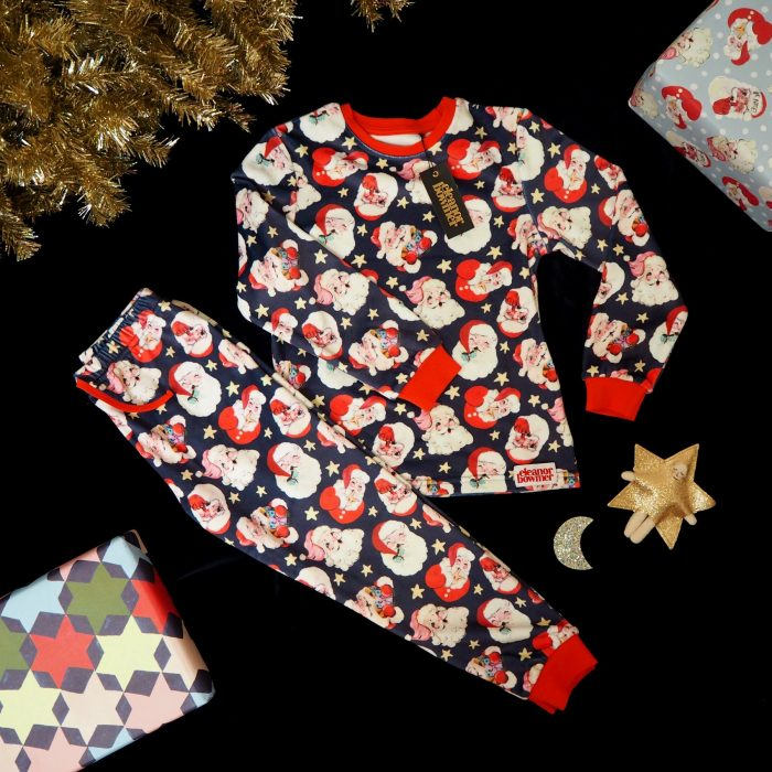 Retro Santa Pajamas