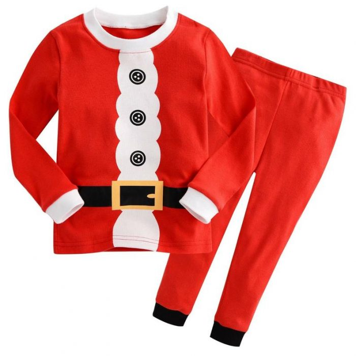 Santa Suit Pajamas for Kids