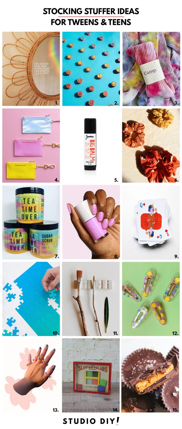 Stocking Stuffers for Tweens and Teens