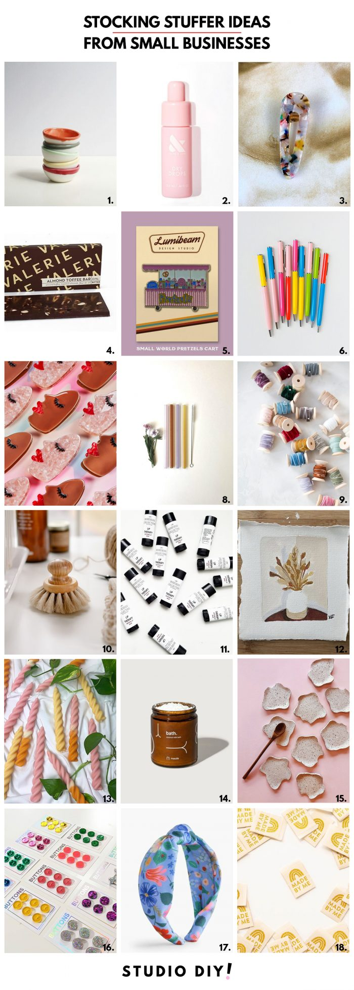 Stocking Stuffers from Small Businesses