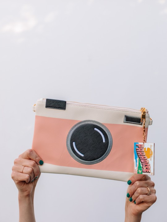 Can't Clutch This: Camera Clutch