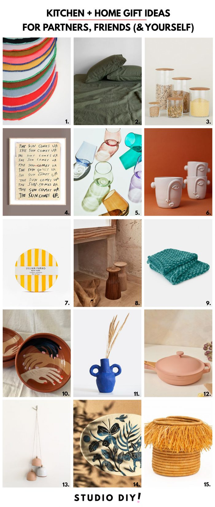 Home & Kitchen Gift Ideas from Small Businesses
