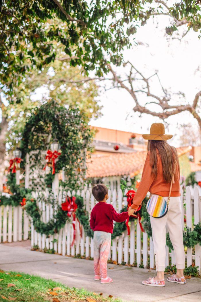 Christmas Walk in Los Angeles