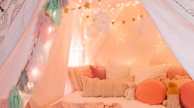 How To Make a Magical Tent from The Holiday