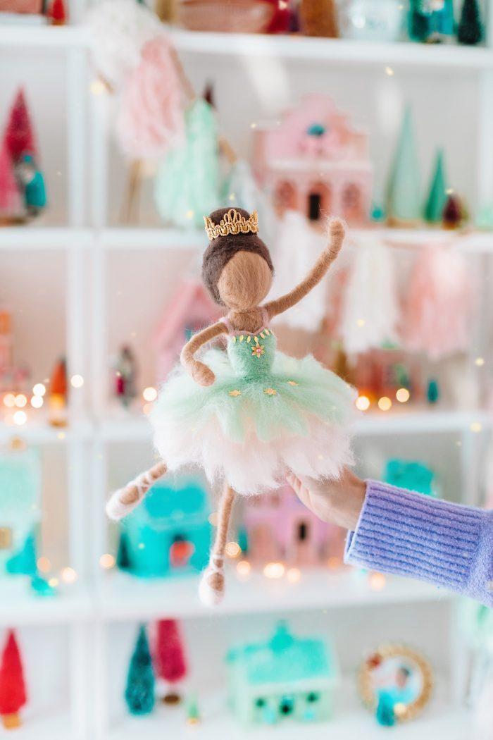 Needle Felted Doll Tutorial: How To Make A Sugar Plum Fairy