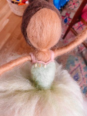 Felt Ballerina Doll