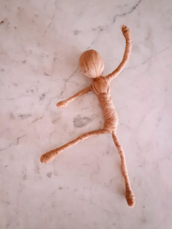 How To Make A Needle Felted Doll