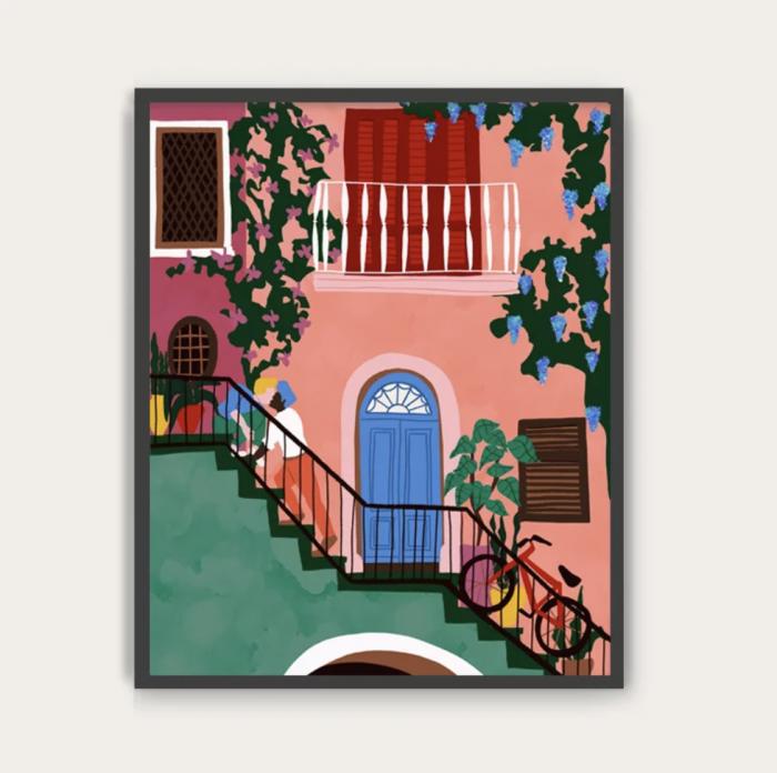 MonaMai Art Print