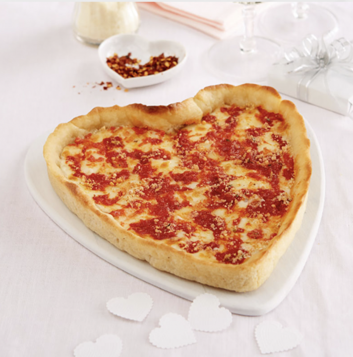 Heart Shape Pizza