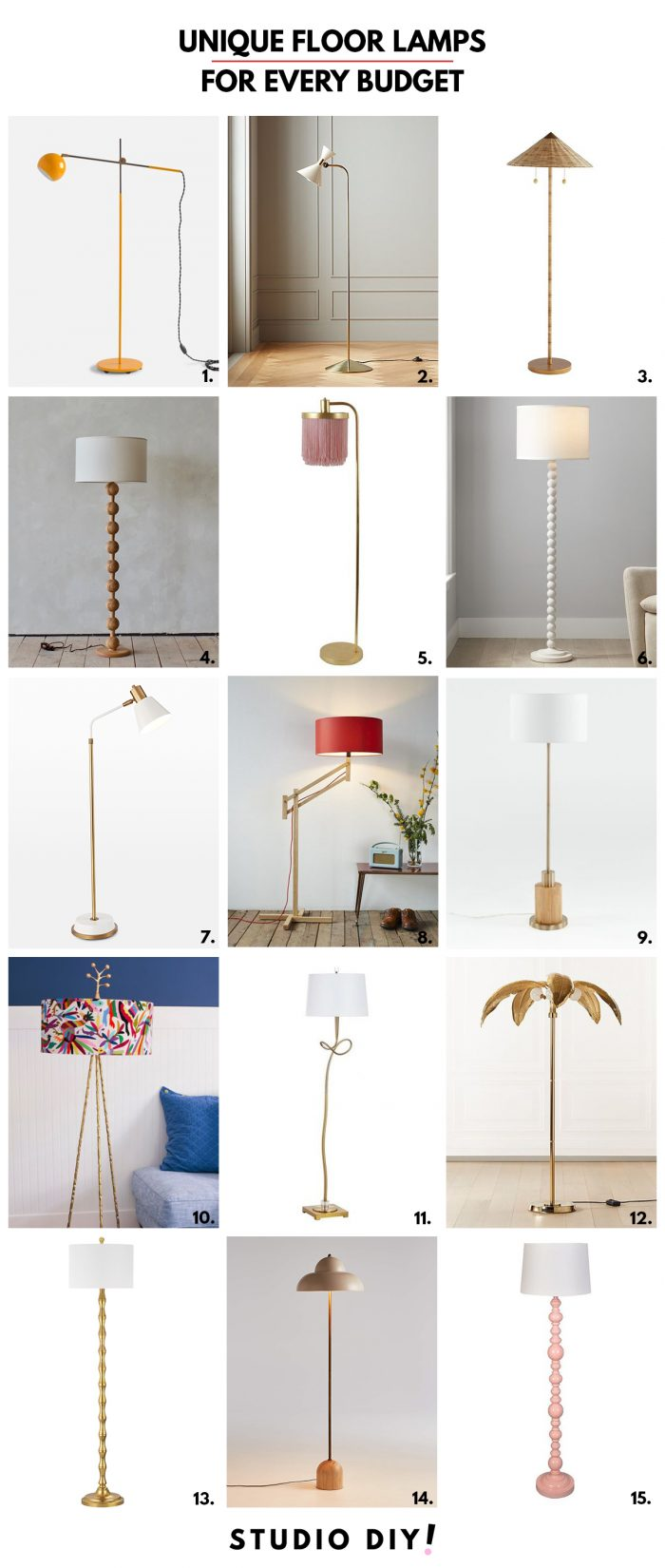 Unique Floor Lamps for Any Room
