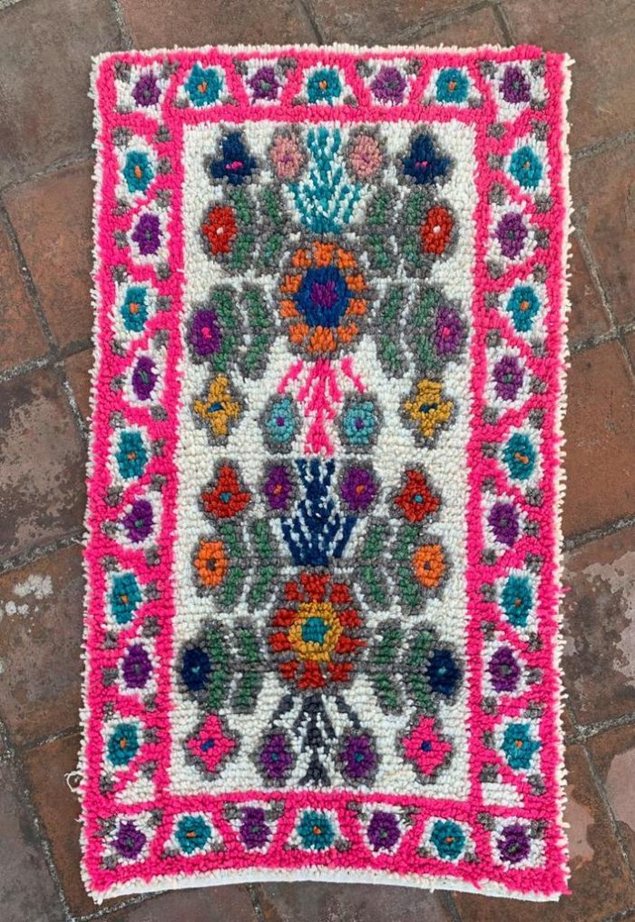 Colorful Woven Guatemalen Rug