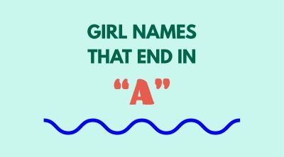 Girl Names That End in A