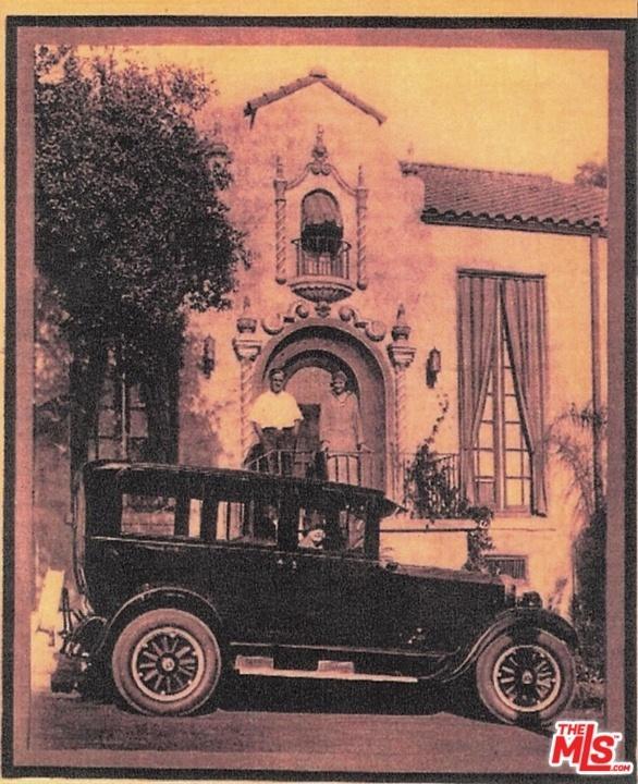 Hollywood Hills 1920s Spanish House