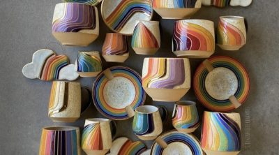 Rainbow Ceramics Designed by Christine Tenenholtz