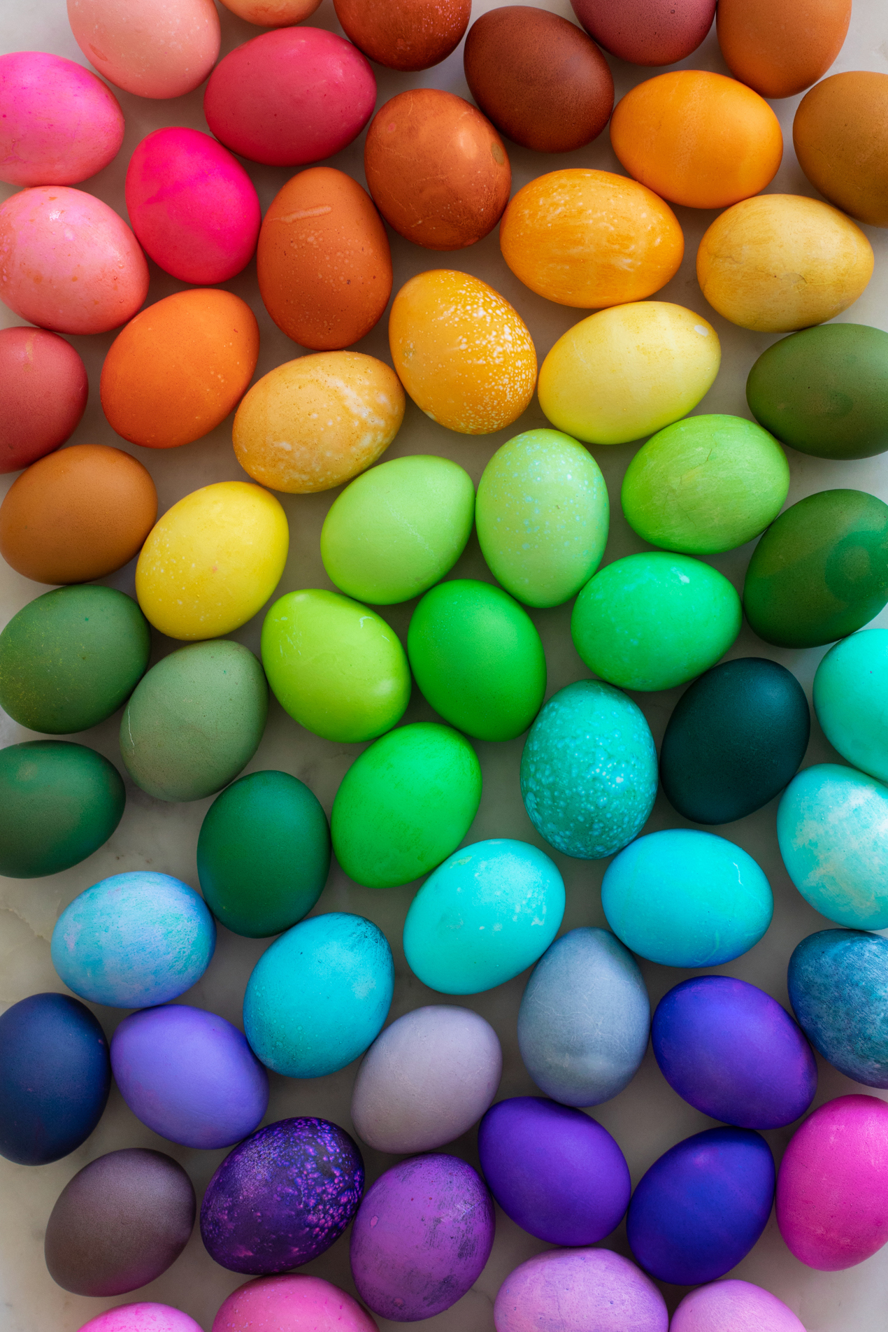 How To Dye Easter Eggs with Food Coloring   Studio DIY