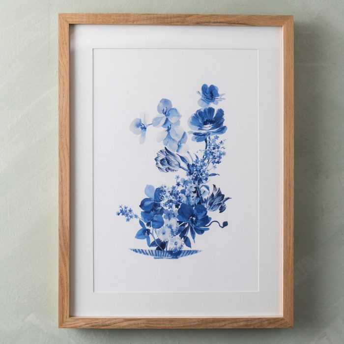 Helen Dealtry Blue and White Paintings