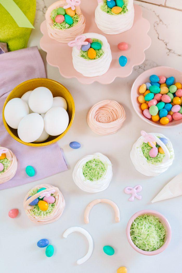 Meringue Easter Basket