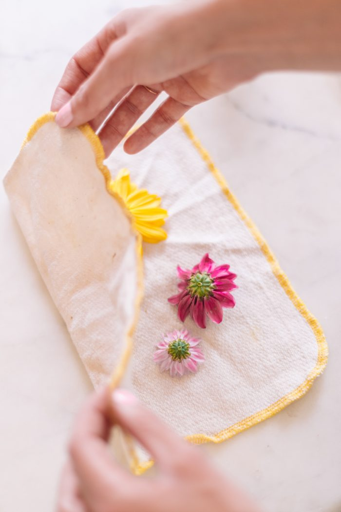 How To Press Flowers in 2 Minutes