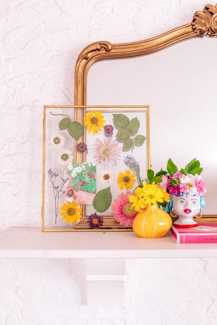 Pressed Flower Art Tutorial