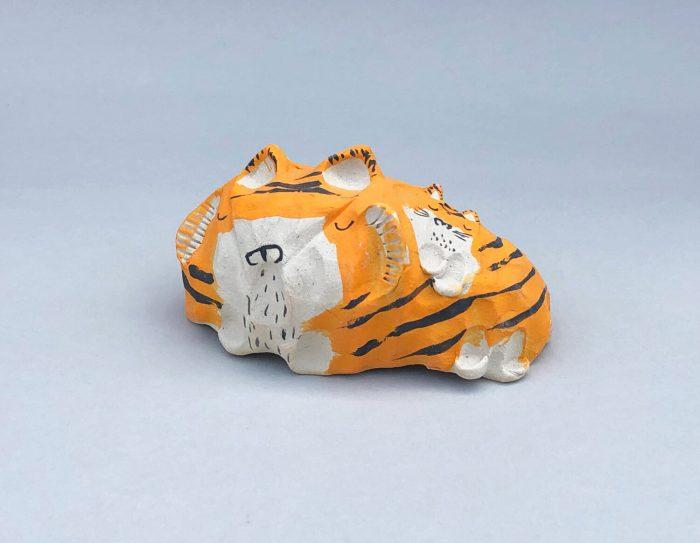 Alyson Iwamoto Ceramic Tiger