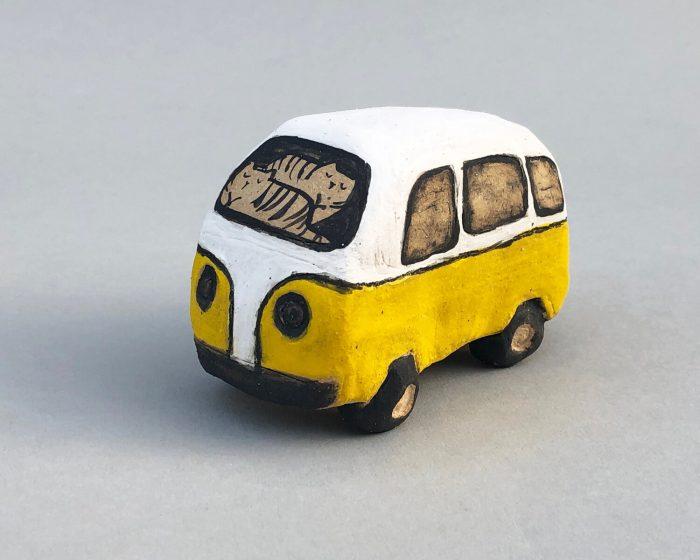 Alyson Iwamoto Ceramic VW Van