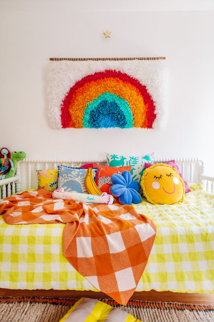 Rainbow Big Kid Room Tour