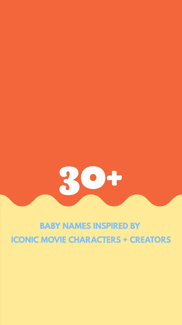 Baby Names Inspired by Movie Icons