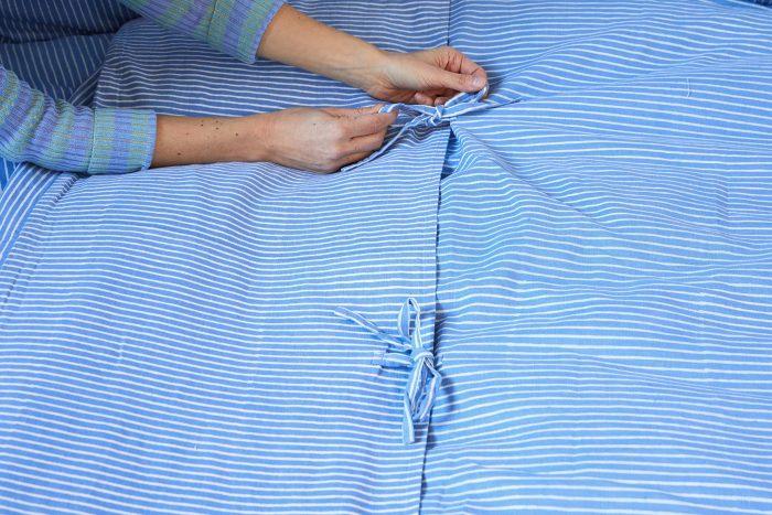 Blue Block Shop Textiles Bedding