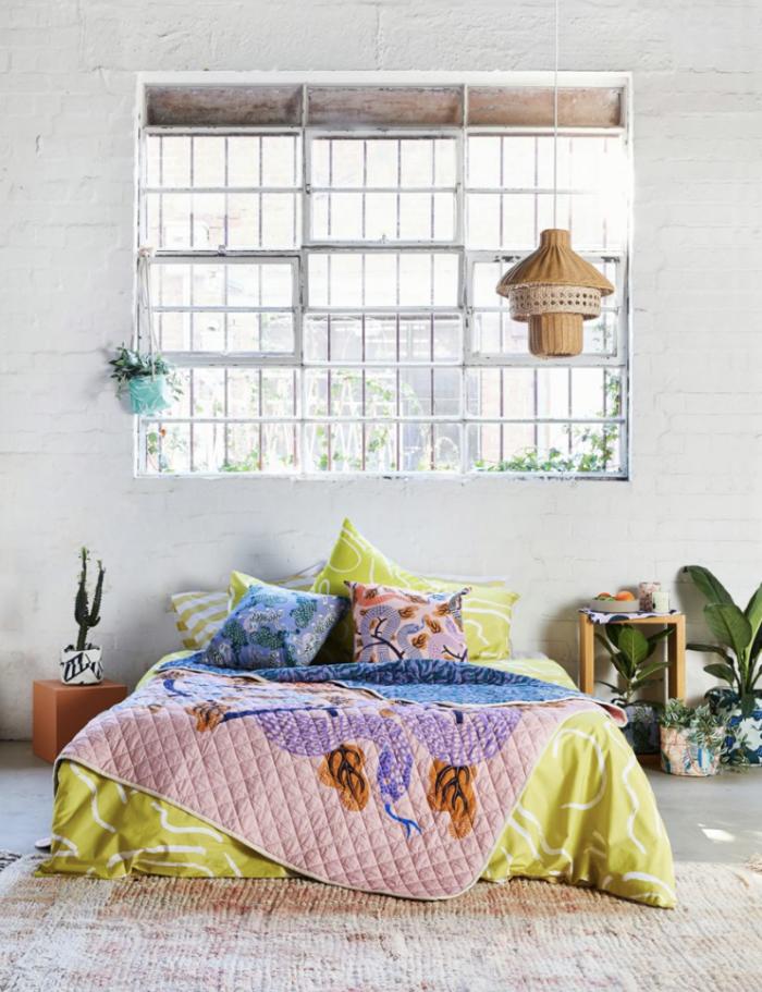 Bold and Colorful Bedding by Gorman