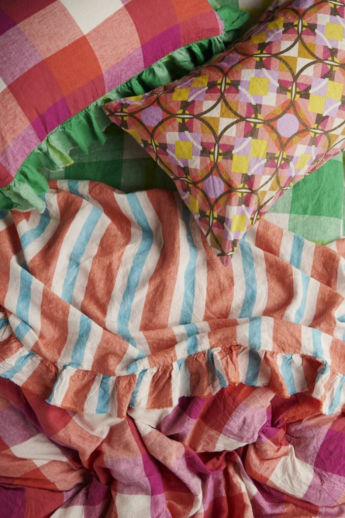Colorful Society of Wanderers Bedding
