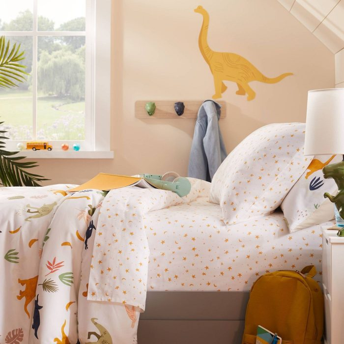 Dinosaur and Star Bedding from Pillowfort at Target
