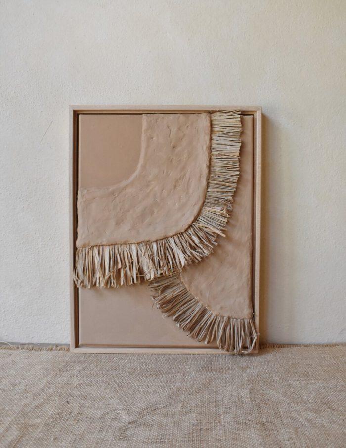 Elan Byrd Raffia Art Piece