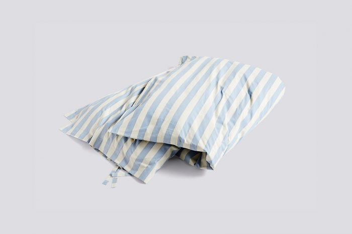 Hay Blue Striped Duvet