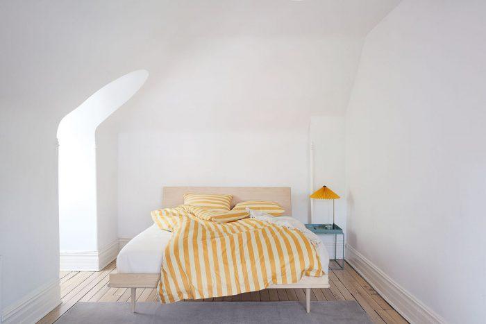 Hay Yellow Striped Duvet